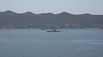 Turkey: Turkish naval vessel sighted in Kas amid maritime tensions with Greece