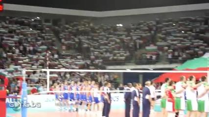 """Невероятно! 12 000 души пеят Националния Химн в """"арена Армеец"""""""