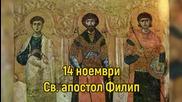 14 ноември - Св. апостол Филип