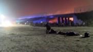 France: Calais 'Jungle' camp refugees forced to sleep outside after massive fire