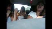 Babyfayce & Friends in car :P