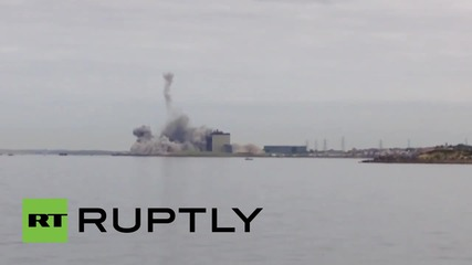 UK: Iconic Scottish Cockenzie Power Station demolished in seconds