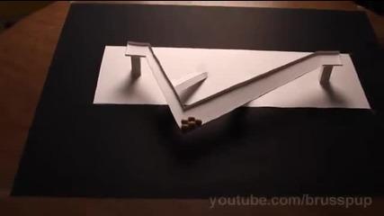 Невъзможна илюзия с топчета
