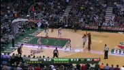 Miami Heat @ Milwaukee Bucks 97 - 105 [01.02.2012]
