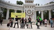 Mexico: Protesters in Mexico City march against Monsanto and GMOs