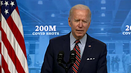 USA: 'Wait no longer' - Biden urges everyone to get vaccinated as govt hits 200m jabs goal