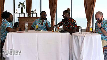 Brunch with the boys and the toys: The New Day: Feel the Power, April 12, 2021
