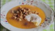 Зеленчукова крем супа със сметана