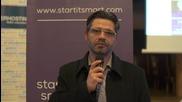 SIStory   Dimitris Papoutsis: Progress Under Recession - Интервю с публиката