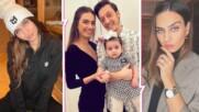 Амине Гюлше се връща на екран! Актрисата показа дъщеря си, със съпруга си се местят в Турция!
