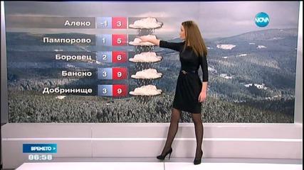 Прогноза за времето (23.01.2015 г. - сутрешна)