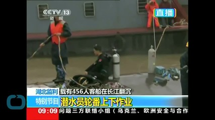 China Boat Relatives Stage Protest