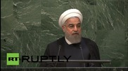 UN: Rouhani discusses impact of 'terrorism' on 'sustainable development'
