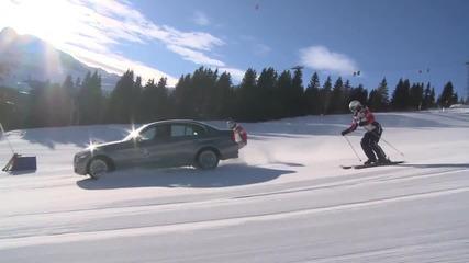 Bmw 320 дрифт на ски писта