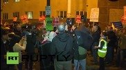 "USA: Protesters honour Netanyahu with ""war mongering"" award"