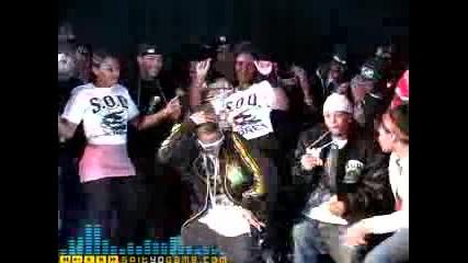 Soulja Boy , Lil Will & Lil Spain - My Dougie...заснемане на видеото към ремикса :p