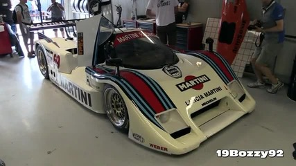 800hp Lancia Lc2 V8 Group C