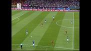 Финалът! Испания - Италия 4:0 - Головете - Бг коментар