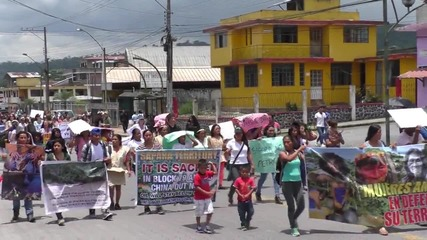 Ecuador: Amazonian women defend their land on International Women's Day