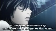 Death Note - Еп. 20 - Bg Sub