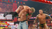 Randy Orton steals an RKO from John Cena: Raw, Aug. 10, 2009