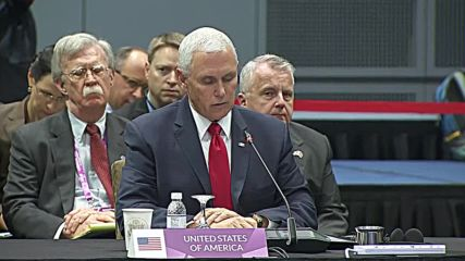 Singapore: 'US seeks collaboration, not control' – Pence to ASEAN