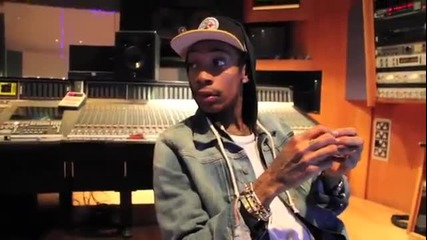 Wiz Khalifa Freestyle On Sbtv [studio Session]