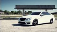 Mercedes Benz A M G E63 и комплект Vossen Wheels