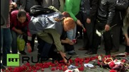 Turkey: Relatives of Ankara attack victims take part in anti-government rally
