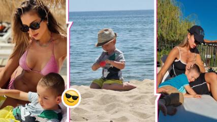 С деца на море vol. 2: Петканови откриха сезона на плажа! Но чакат ли второ дете?