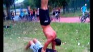 Street Workout Пазарджик 27/07/2012г.
