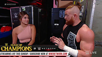 Murphy tries to comfort Aalyah Mysterio: Raw, Sept. 21, 2020