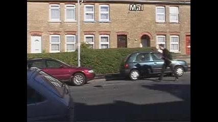 нимание отзад кола
