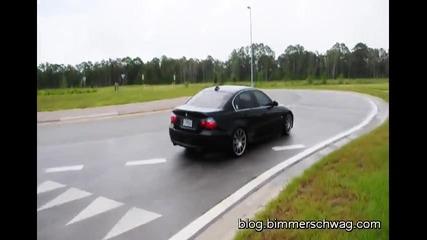 Bmw E90 335 Drifting