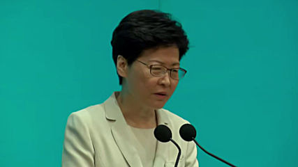 Hong Kong: Lam assures there is no timetable for extradition bill
