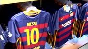 Новите екипи 2015/2016 /la nueva camiseta, ya a la venta en la Fcbotiga Megastore