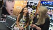 Християна Лоизу преди поредната музикална битка на сцената на X Factor