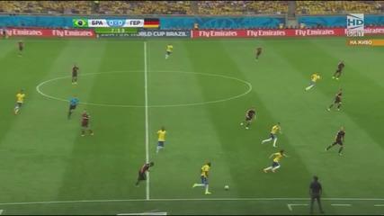 Световно първенство по футбол 2014 Бразилия - Германия - Първо полувреме Част 2/5