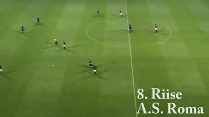 Топ 25 гола на Pes 2011 част 2