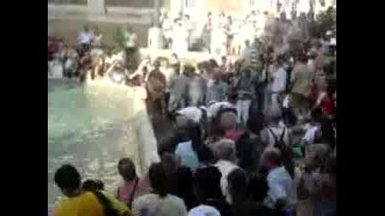 Roman Fountain Dive