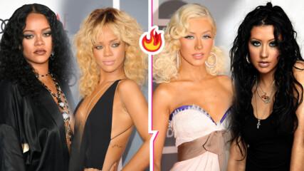 Блондинки или брюнетки? Звездите, които изглеждат еднакво добре с черна и руса коса