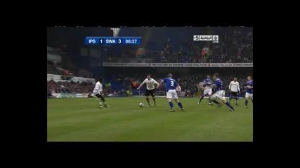 Ipswich 1 - 3 Swansea - Craig Beattie