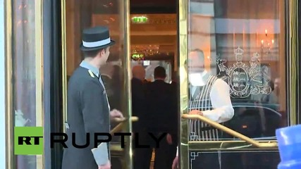 Austria: Lavrov arrives for new round of Syria peace talks