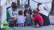 Serbia: Undocumented migrants stranded in central Belgrade