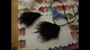 Как да си направим котешки ушички?