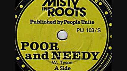 Misty In Roots - Poor & Needy 12``1983