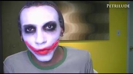 The Joker make-up tutorial
