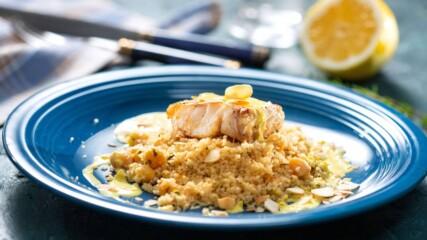 Бон Апети | Риба с шафранов сос и кускус