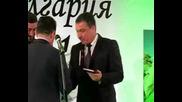 Слово министър Цветков - връчване чек на кмета на Несебър
