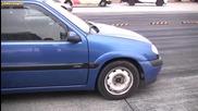Citroen Saxo Vts vs Honda Crx